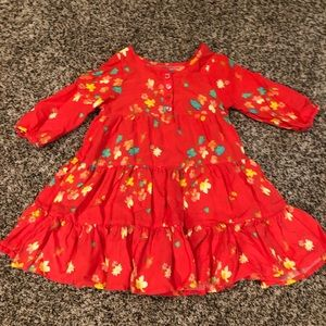 Floral 3/4 sleeve dress!